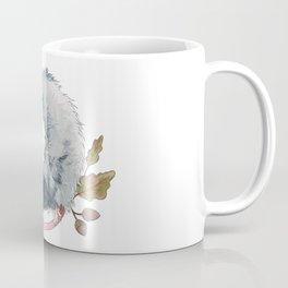 Possum and Oak Leaves Coffee Mug