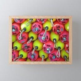 Floats By The Sea Framed Mini Art Print