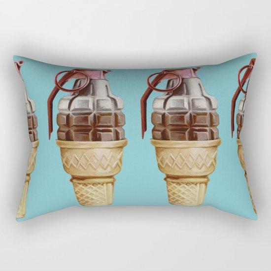 Parental Guidance Advised Rectangular Pillow