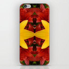 """""""A Gathering of Lilies"""" Remix - 4 (1-1) [D4469~57] iPhone Skin"""