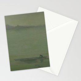 Thames Nocturne by James McNeill Whistler Stationery Cards