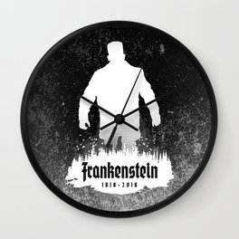 Frankenstein 1818-2018 - 200th Anniversary INV Wall Clock