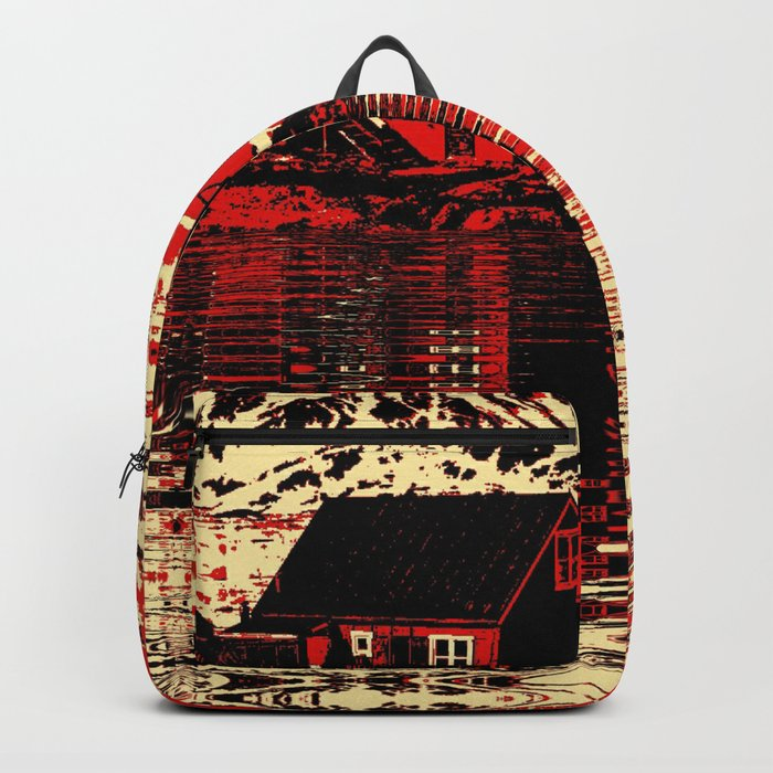 House on the Fjord Backpack