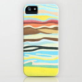 colorful perspective iPhone Case