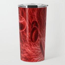 blood cells red medical Travel Mug