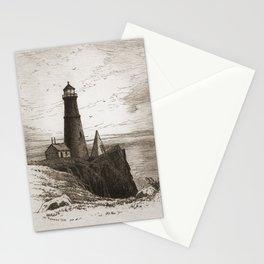 Vintage Lighthouse Art Stationery Cards
