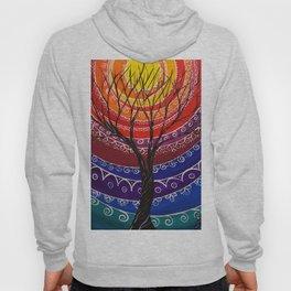 Mandala tree 256 Hoody