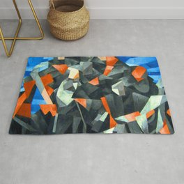 Francis Picabia Procession Seville Rug