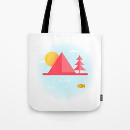 OCEAN TO SKY Tote Bag