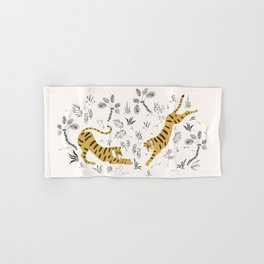 Tiger Dive Hand & Bath Towel