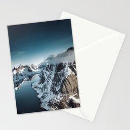 lofoten skyline Stationery Cards