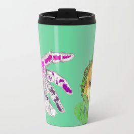 Wilted Metal Travel Mug