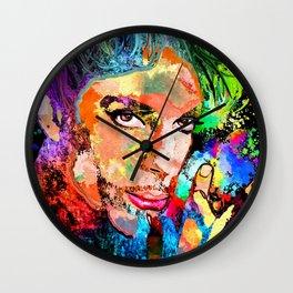 Prince Grunge Wall Clock