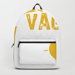 Vagary means Unusual Idea Backpack