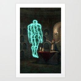 invocacion espiritu Art Print