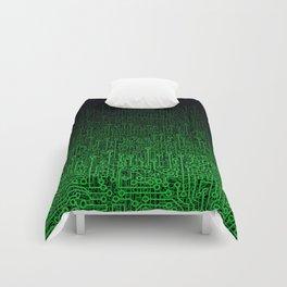 Reboot II GREEN Comforters