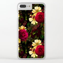Vintage & Shabby Chic - Night Affaire III Clear iPhone Case