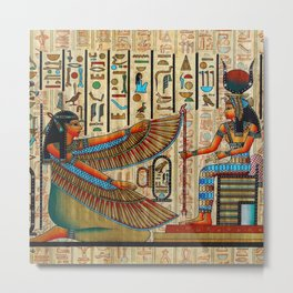 Egyptian - Isis Metal Print