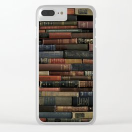Books on Books Clear iPhone Case