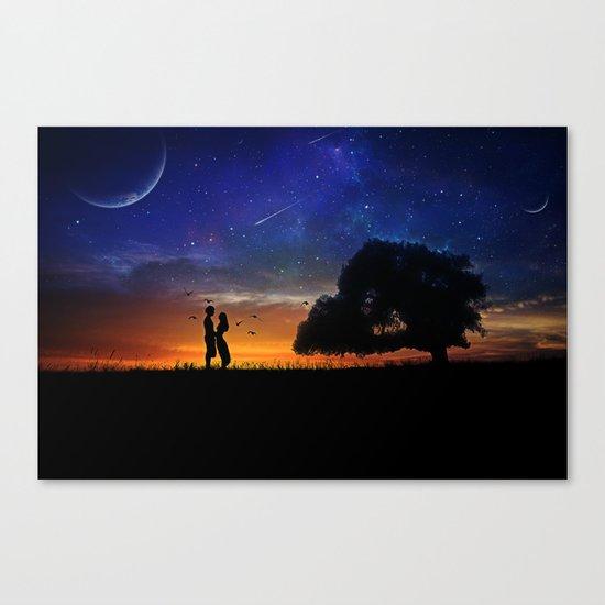 Alone in the Universe Canvas Print
