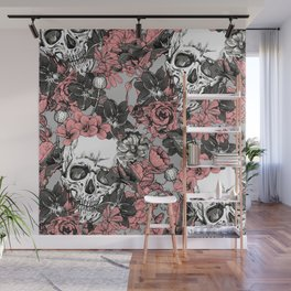 SKULLS 3 HALLOWEEN Wall Mural