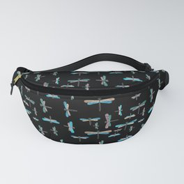 Colourful Dragonfly pattern Fanny Pack