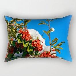 Snow Berries Rectangular Pillow
