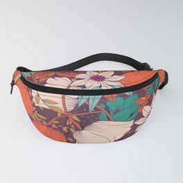 Botanical pattern 010 Fanny Pack