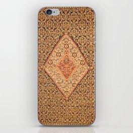 Senneh  Antique Kurdistan North West Persian Kilim iPhone Skin