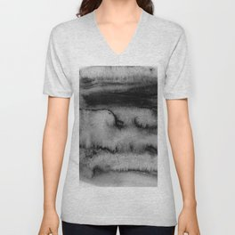 Melting peisage Unisex V-Neck