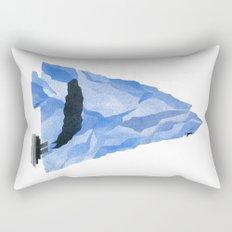 The Living Iceberg Rectangular Pillow