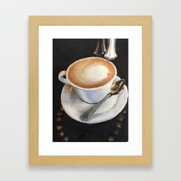 Latte Leisure Framed Art Print