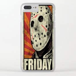 Friday! Clear iPhone Case