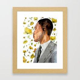 floral no. 3 Framed Art Print