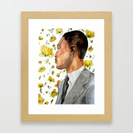 floral no. 3 Framed Art Print