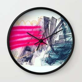 The Pines Wall Clock