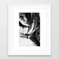 moriarty Framed Art Prints featuring Moriarty by Cécile Pellerin