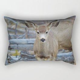 Mule deer in Jasper National Park | Canada Rectangular Pillow