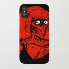 Longing for Brains iPhone X Slim Case