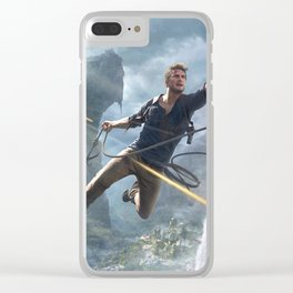 A Thief's End Clear iPhone Case