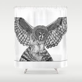 Attack Shower Curtain
