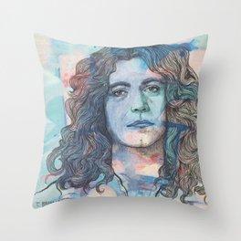 Robert Plant - I'm In Constant Heaven Throw Pillow