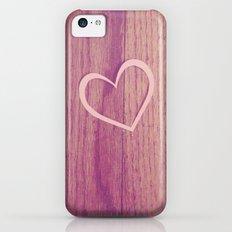 Heart iPhone 5c Slim Case