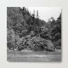 Spaatz-Eaker Mining Claim Cabin, Siskiyou National Forest, California, 1952 Metal Print