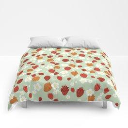 Strawberry Blossom Comforters