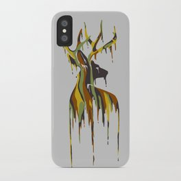 Painted Stag iPhone Case