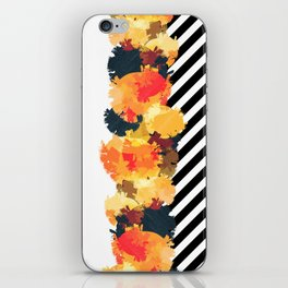 The Fall Patterns #3 iPhone Skin