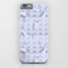 Floral Lace Collection - Blue Slim Case iPhone 6s