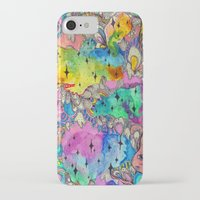 hot fuzz iPhone & iPod Cases featuring Sweet Fuzz by Beverly Salas