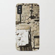 City Ruins iPhone X Slim Case